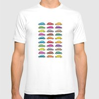 Bugs!! Mens Fitted Tee White SMALL