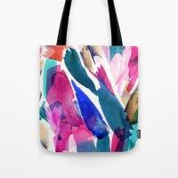 Paradise Watercolor Bota… Tote Bag