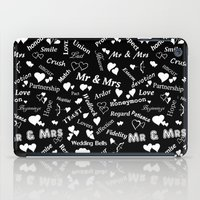 Words of Love. iPad Case