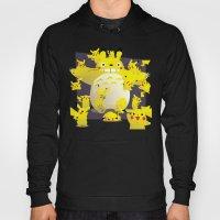 Totoro & Pikachu Hoody