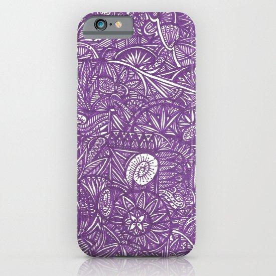 purple iPhone & iPod Case