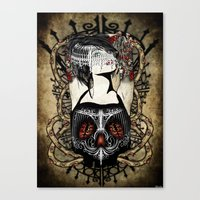 Barbed Ambition Canvas Print