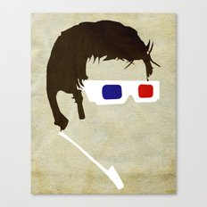Minimalist Doctor Who  - The Tenth Doctor Canvas Print