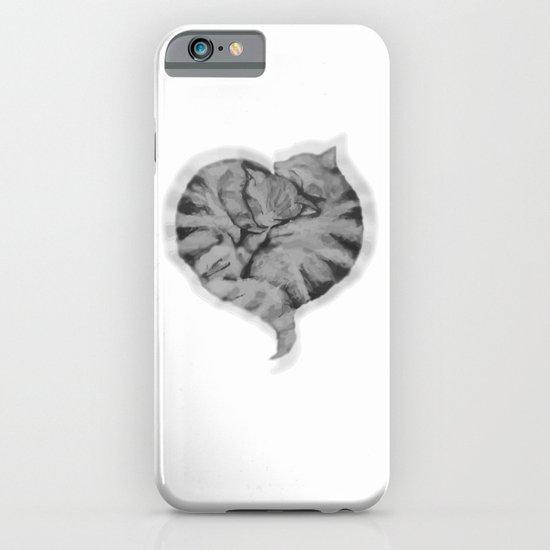 Cuddling Cats iPhone & iPod Case