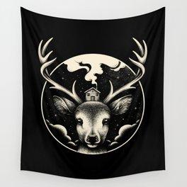 Wall Tapestry - Deer Home - Enkel Dika