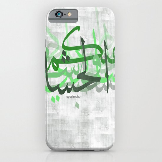 calligraphy iPhone & iPod Case