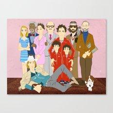 Royal Tenenbaums Family Portrait  Canvas Print
