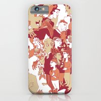 iPhone & iPod Case featuring Beware the wolf by giorgio fratini