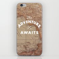 iPhone & iPod Skin featuring Adventure Awaits by Zach Terrell