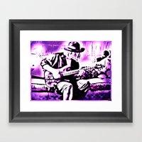 Rock N' Roll Gypsy Framed Art Print