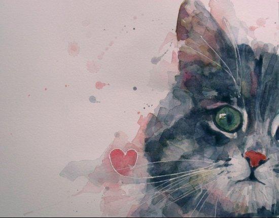 And I Love Her Art Print