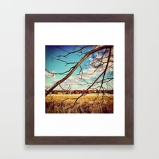 THROUGH & THROUGH Framed Art Print