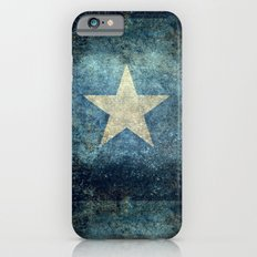 Somalia‬ national flag (officially the Federal Republic of Somalia) Vintage version to scale Slim Case iPhone 6s