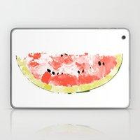 Watermelon Watercolor Laptop & iPad Skin