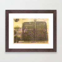 Encaustic Study #2 Framed Art Print