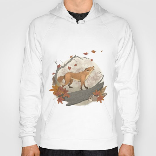 Fox and rabbit Hoody
