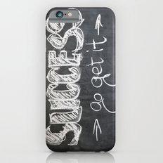 Success Quote (Inspirational) Slim Case iPhone 6s