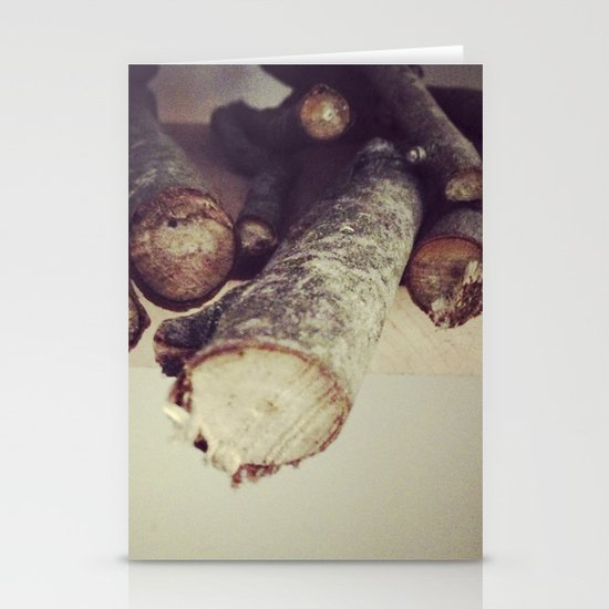 Wood Stationery Card