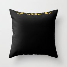 Golden Paradox Throw Pillow