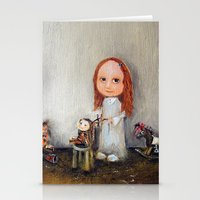 Small Barber Stationery Cards