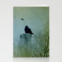 Faded Green  Stationery Cards