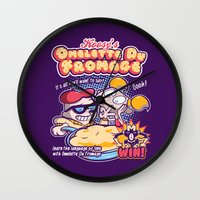 Omelette Du Fromage Wall Clock