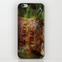 I ♥ You more iPhone & iPod Skin