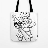 Raggedy Ann With A Chain… Tote Bag