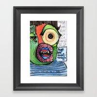 People Need Dramatic Exa… Framed Art Print