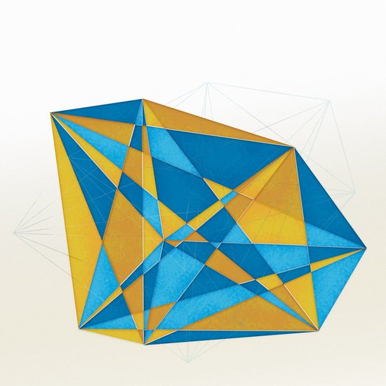 a new geometry Art Print