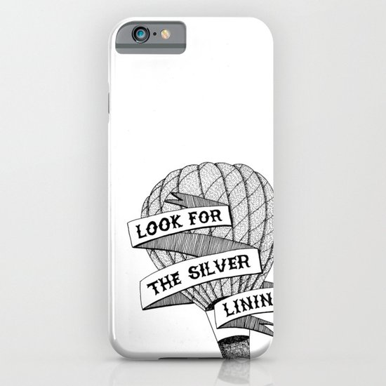 Look for the silver lining iPhone & iPod Case
