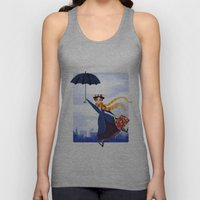 Mary Poppins Unisex Tank Top