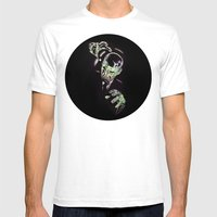 Gruesome Mens Fitted Tee White SMALL