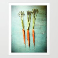 Eat Your Vegetables Art Print
