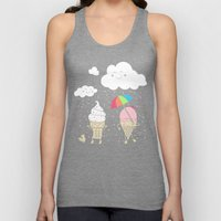 Cloudy With A Chance of Sprinkles Unisex Tank Top