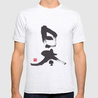 Japan Mens Fitted Tee Ash Grey SMALL
