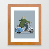 We are the mods Framed Art Print