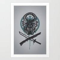 Dead Men Walking Art Print
