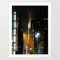 '42nd STREET' Art Print