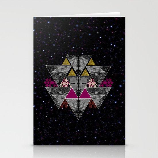 Galaxy trance  Stationery Card