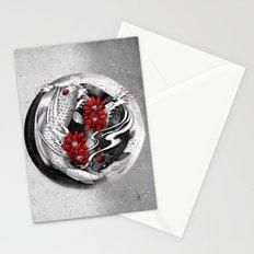 Balance [Yin-yang koi] Stationery Cards