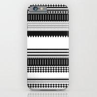Graphic_Black&white iPhone 6 Slim Case