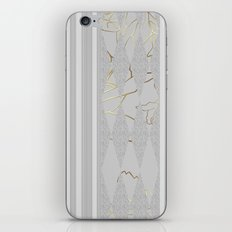 Grey stripes . iPhone & iPod Skin