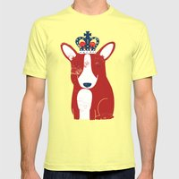One Is Not Amused Mens Fitted Tee Lemon SMALL