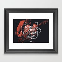 Simmer Down Framed Art Print