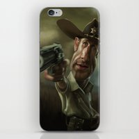 Rick Grimes from 'The Walking Dead'. iPhone & iPod Skin