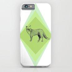 fox in forest iPhone 6 Slim Case