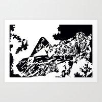 nightdream-women Art Print