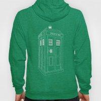 Doctor Who Tardis Hoody