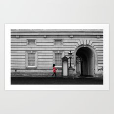 Royal Guard. Art Print